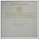 DEATH IN JUNE The Wall Of Sacrifice CD