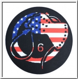 DEATH IN JUNE US Flag Whiphand Slipmat