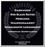 LICHTERFLUG Festival Shirt 2016 Men L