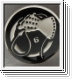 DEATH IN JUNE Whiphand Circle Big Metal Pin